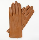 Thumbnail for your product : John Lewis & Partners Fleece Lined Leather Gloves