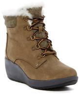 Sperry Luca Peak Waterproof Faux Fur Wedge Boot