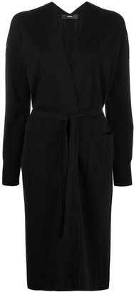 Diesel Wrap-Style Knitted Coat