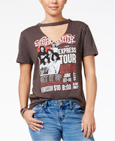 Freeze 24-7 Juniors' Cotton Aerosmith Graphic T-Shirt
