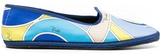 Emilio Pucci Quirimbas-print Friulane loafers