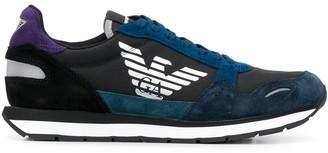 Emporio Armani Low Top Eagle Logo Sneakers