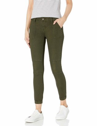 CG JEANS High Rise Army Jeans Joggers for Women Drawstring Camo
