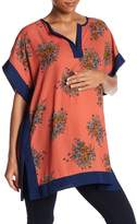 Lilac Maternity Caftan Shirt (Maternity)