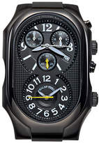 Philip Stein Teslar Chronograph Black PVD Signature Watch Head
