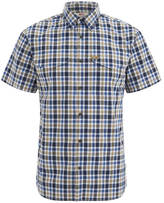 Fjallraven Ovik Short Sleeve Shirt Dark Navy