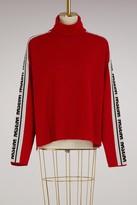 MSGM Wool turtleneck sweater