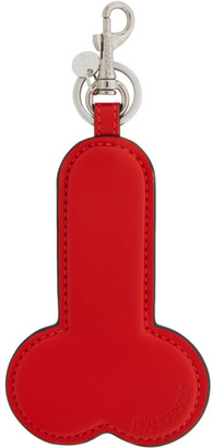 J.W.Anderson Red Penis Keychain