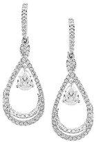 Nadri Cubic Zirconia Drop Statement Earrings
