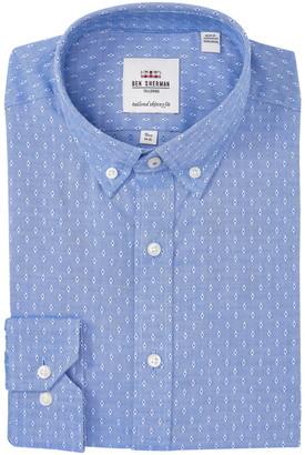 Ben Sherman Oxford Dobby Skinny Fit Dress Shirt