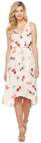 Lucky Brand Painted Floral Maxi Dress Women's Dress