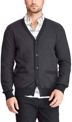 Chaps Men's Classic-Fit Fine Gauge Textured Button-Down Cardigan