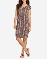 Eddie Bauer Women's Woven Shirt Dress - Printed Gauze