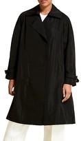 Thumbnail for your product : Marina Rinaldi, Plus Size Waterproof Taffeta Trench Coat