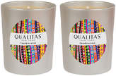 Qualitas Candles Frankincense Beeswax Candles (Set of 2) (6.5 OZ)