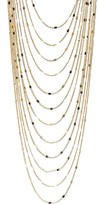 Savvy Cie Multi-Layer Chain Necklace