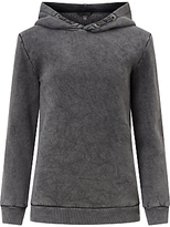 John Lewis Children's Hooded Sweatshirt, Grey Marl
