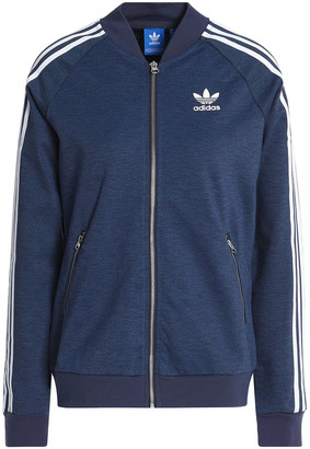 adidas Melange Stretch-jersey Jacket