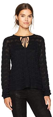 M Missoni Women's Solid Knit Top