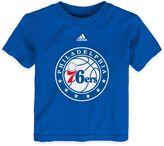 NBA Philadelphia 76ers Short Sleeve Shirt in Blue