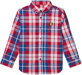 Lyle & Scott Royal Red Check Shirt