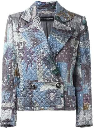 Jean Louis Scherrer Pre-Owned sequin quilted jacket
