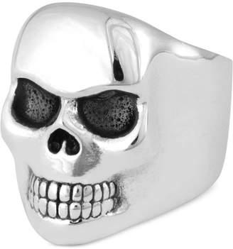King Baby Studio Men Classic Skull Ring in Sterling Silver
