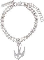 McQ by Alexander McQueen swallow charm bracelet