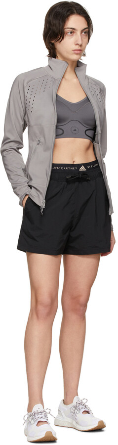 Thumbnail for your product : adidas by Stella McCartney Grey TruePurpose Midlayer Jacket