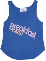 Wildfox Couture Breakfast Crew Hiker Tank Top