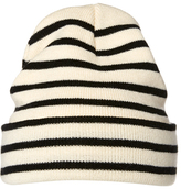 Dotti Monochrome Stripe Beanie