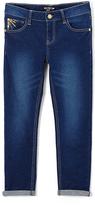 XOXO Dark Wash Button-Pocket Denim Jeans - Toddler & Girls