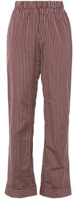 ELSE Dixie Striped Cotton-blend Pajama Pants