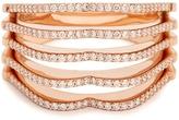RAPHAELE CANOT OMG! diamond & pink-gold ring
