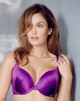 Gossard Everyday Dotty Plunge Purple Bra