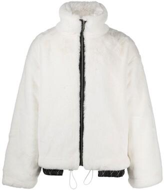 goodboy Oversized Faux Fur Bomber Jacket