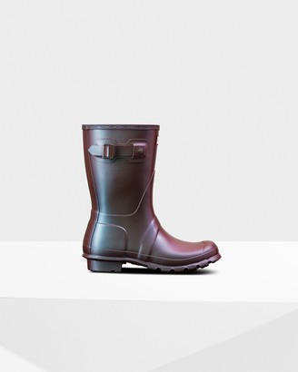 Hunter Women's Original Pearlised Short Wellington Boots