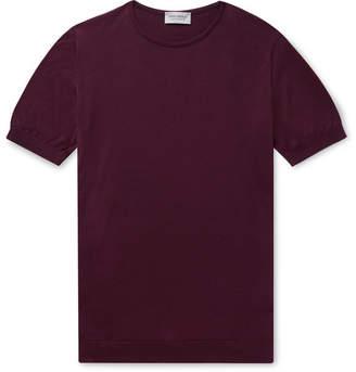John Smedley Belden Slim-Fit Knitted Sea Island Cotton T-Shirt