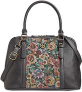 Giani Bernini Pebble Tapestry Medium Dome Satchel, Created for Macy's