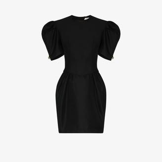 Brøgger Charlie pouf sleeve mini dress