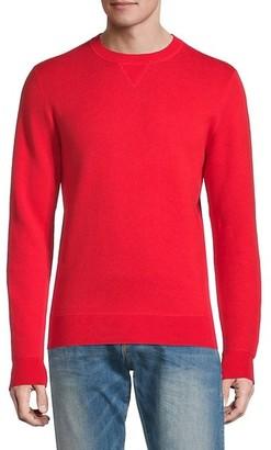 HUGO BOSS Crewneck Cotton & Wool-Blend Sweater