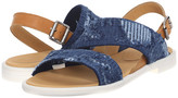 MM6 MAISON MARGIELA Frayed Denim Flat Sandal