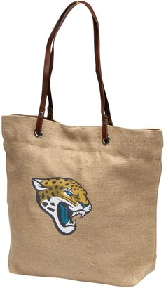 Women's Little Earth Jacksonville Jaguars Burlap Market Tote