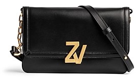 Zadig & Voltaire Zv Initiale Leather Clutch