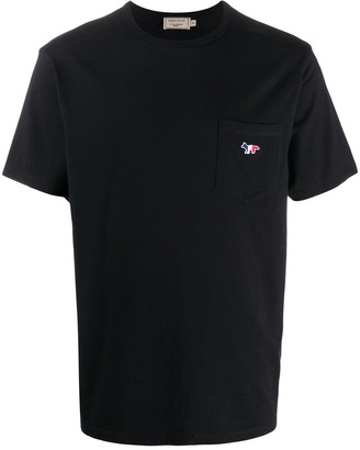 MAISON KITSUNÉ patch-pocket T-shirt
