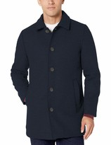 Thumbnail for your product : Amazon Essentials Wool Blend Heavyweight Car Coat Navy XXL
