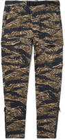 Nike Tapered Camouflage-Print Stretch-Twill Trousers