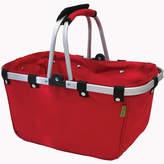 Asstd National Brand JanetBasket Large Rouge Aluminum Frame Basket