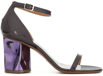 Maison Margiela structured heel sandals