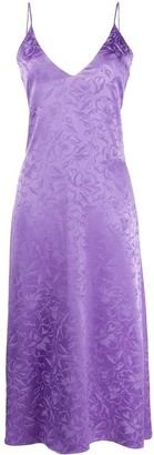 MSGM Jacquard Midi Dress